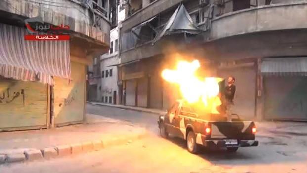 Syrian rebels take key town near Aleppo