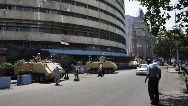 Back to the future for Egypt's state media