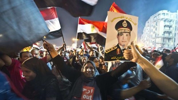 "Ex-Egyptian army chief says ""the people"" removed Mursi"