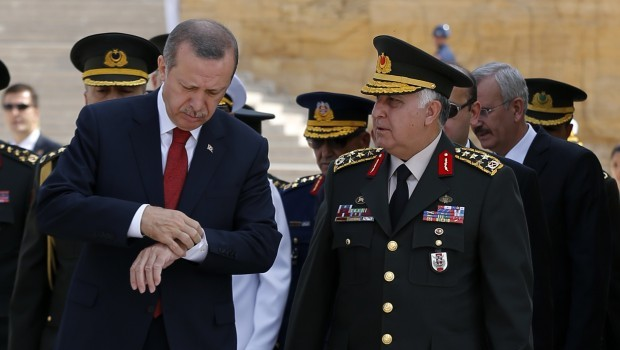 Turkey appoints new military commanders as government asserts control