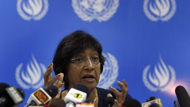 UN rights chief: Sri Lanka turning authoritarian
