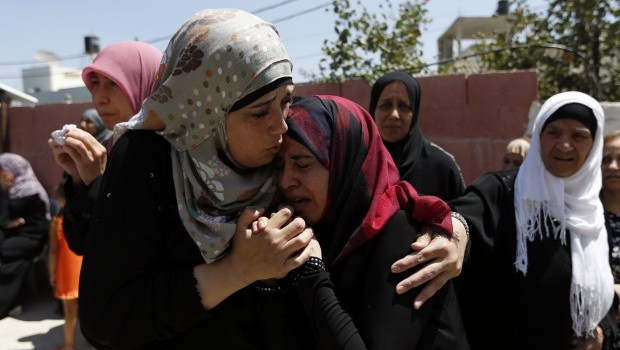 Palestinians call off peace talks after 3 killed in West Bank