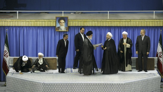 Hassan Rouhani becomes Iran's president