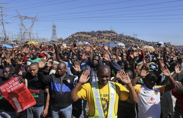 South African labour unrest spreads