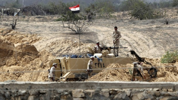 Egyptian security arrest 47 insurgents in Sinai