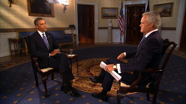 Obama sees possible breakthrough in Syria weapons proposal
