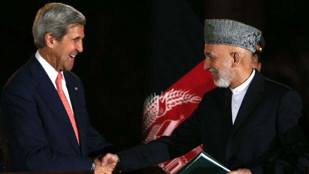 US-Afghan officials near a deal on American troops