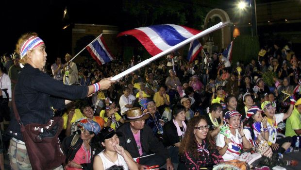 Thai protesters occupy Finance Ministry in bid to oust government