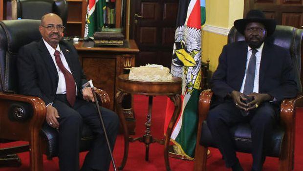Al-Bashir arrives in South Sudan