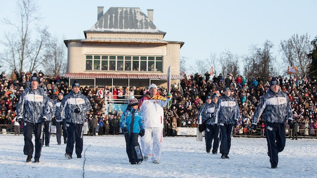 Russian security forces battle militants before Olympics
