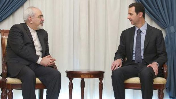 Zarif stresses Iranian support for Assad: Syrian state TV