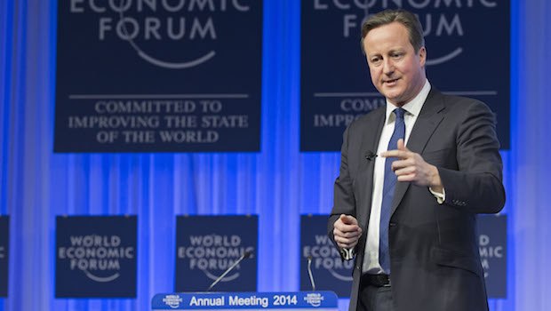 UK's Cameron tells Davos he can keep Britain in the EU
