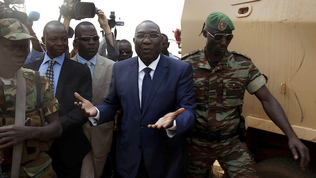 Central African Republic's capital tense as ex-leader heads into exile