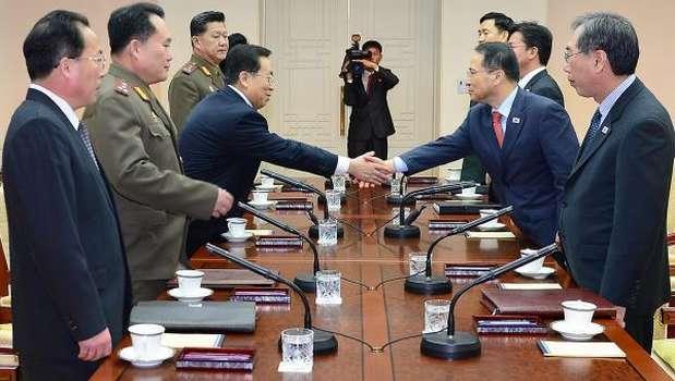 North, South Korea seek better ties at rare high-level talks