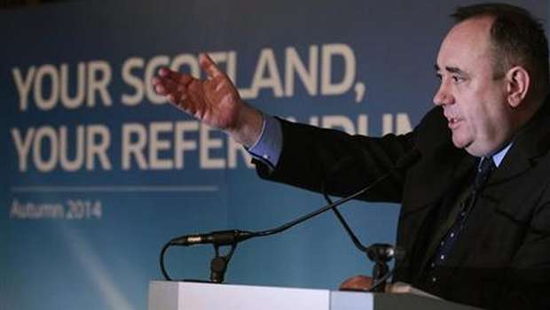 "Scottish separatist leader scolds ""arrogant"" UK"