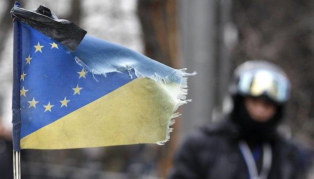 Ukraine president exits Kiev; protesters take over