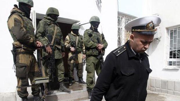 Russian forces storm Ukraine naval HQ in Crimea