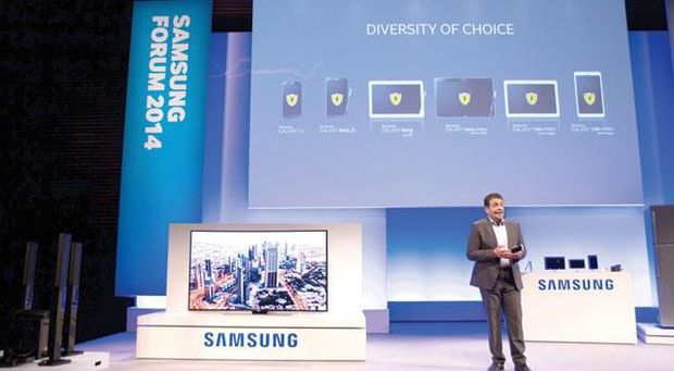 Samsung seeks bigger slice of Middle East tablet market