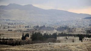 A handout photograph released by Syria's national news agency SANA on March 15, 2014, shows a view of a part of the town of Yabroud in Syria, which lies north of Damascus near the Lebanese border. (Reuters/SANA/Handout via Reuters)