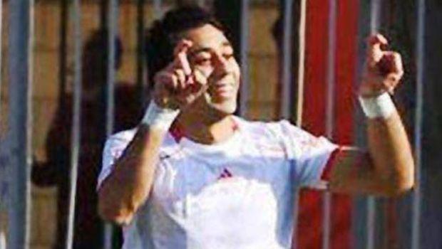 Egyptian footballer facing penalty for Sisi sign