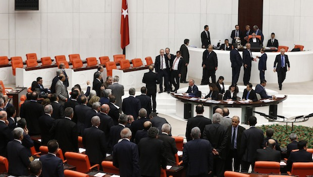 Turkey's parliament meets to take up corruption