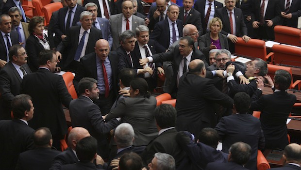 Turkish parliament delivers blow to schools run by Erdogan rival