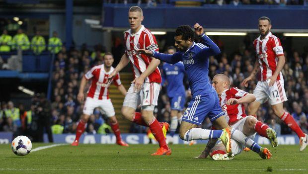 Salah inspires Chelsea to 3-0 win over Stoke