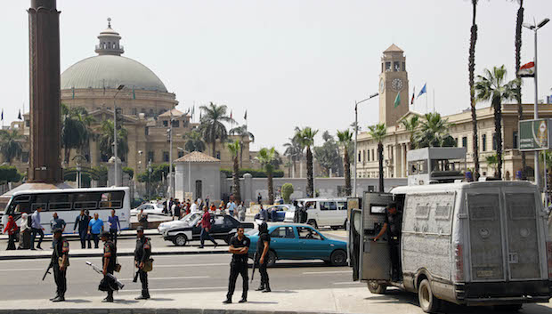 Egyptian security says it has defused bombs at Cairo universities