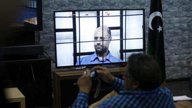Libya: Gaddafi son questioned via video link in court hearing