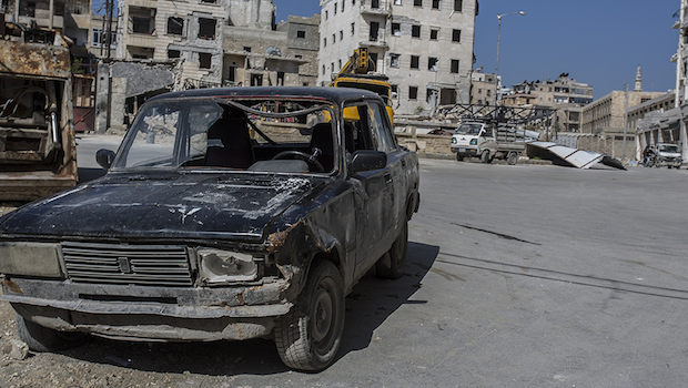 Aleppo: What's Left Behind