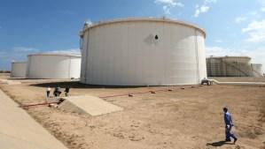 A general view shows the Zawiya oil installation on August 22, 2013, in Zawiya, Libya. (AFP PHOTO/MAHMUD TURKIA)