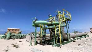 Pipelines are seen at the Zueitina oil terminal in Zueitina, west of Benghazi, on April 7, 2014. (REUTERS/Esam Omran Al-Fetori)