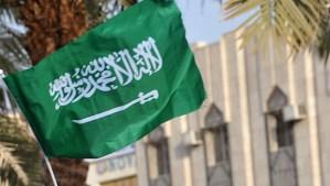 File photo of the Saudi flag. (FAYEZ NURELDINE/AFP)