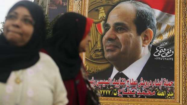 Egypt: Sisi, Sabahy look to expat voters