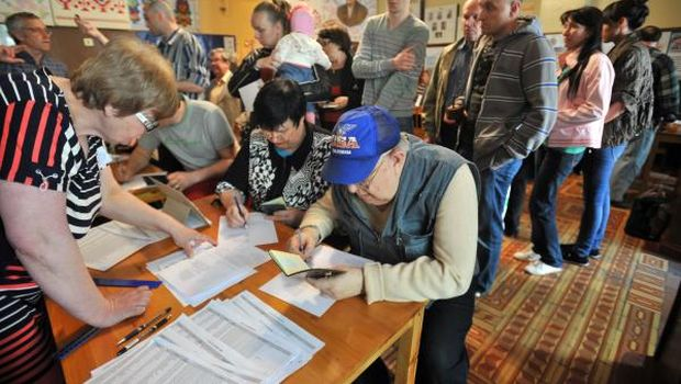 East Ukraine referendum raises fears of dismemberment