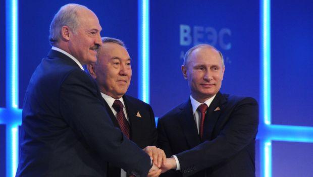 Putin forms ex-Soviet trade bloc to challenge EU, US