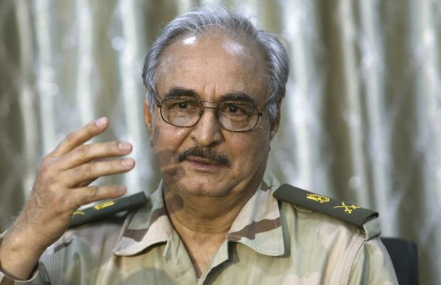 "Haftar to be named commander-in-chief ""soon"": Libyan official"