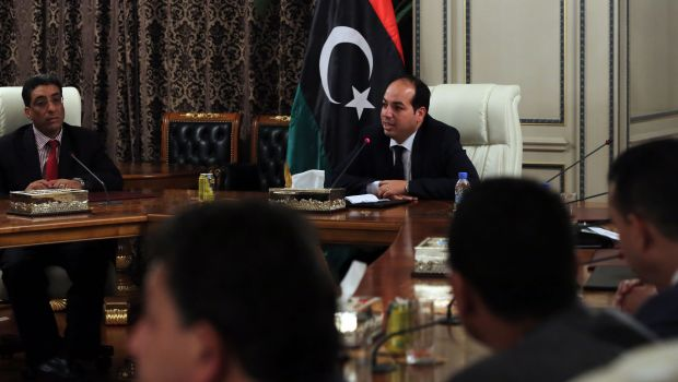 Gunmen fire grenade at Libya PM's office, says aide