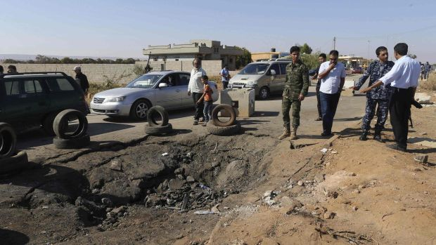 Renegade general launches offensive in east Libya, up to 12 killed