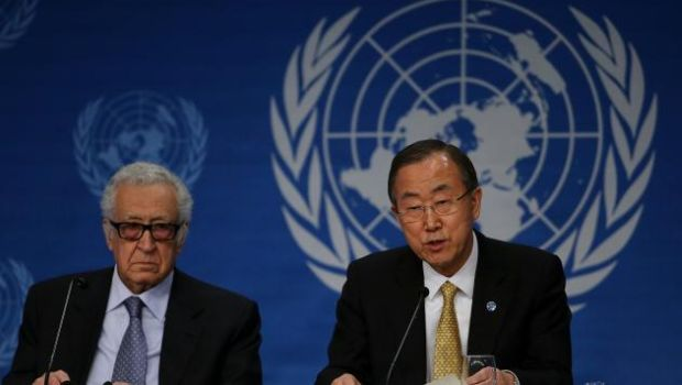 UN chief considers Brahimi's replacement as Syria envoy
