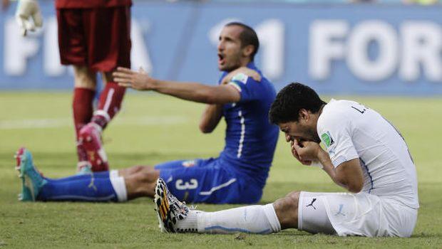 Uruguay beat Italy to advance, Lamouchi to quit after Ivory Coast exit