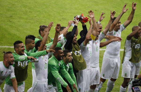 After the goalrush, Algerian delight