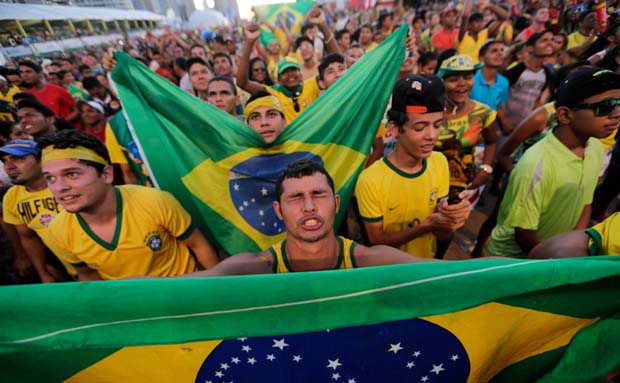 Brazil comes alive for World Cup despite protests