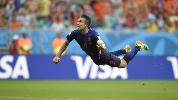Netherlands thrashes Spain 5–1 in World Cup opener