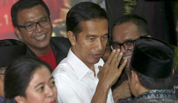 Jokowi party claims victory in Indonesian presidential election