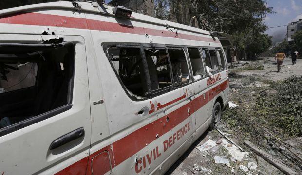 Gaza paramedics accuse Israel of targeting ambulance crews