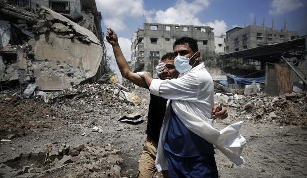 Displaced Palestinians speak of ordeal