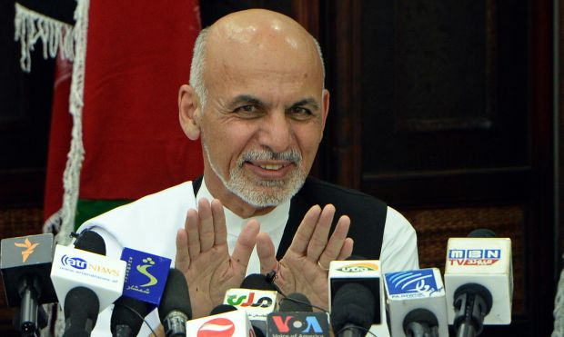 Afghan presidential candidate rules out coalition deal
