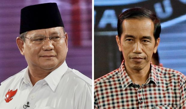 Both rivals claim victory in Indonesian election