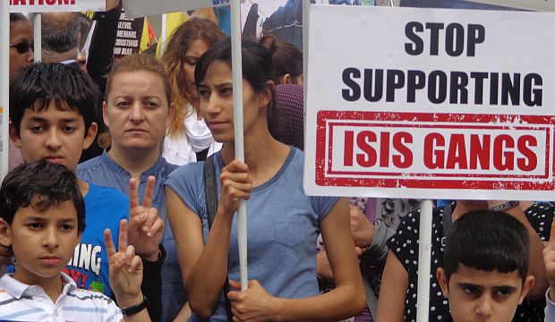 Kurds rally in London against ISIS, call on UK to help protect Iraqi minorities